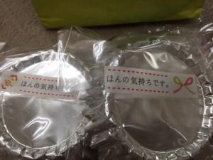 山崎さんよりお菓子